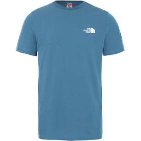 The North Face Simple Dome T-shirt Heren, mallard blue
